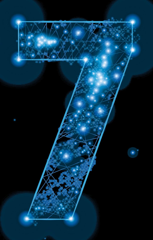 Sternbild Sieben